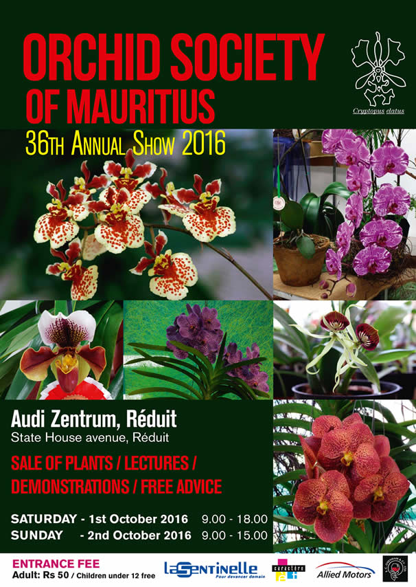 36th Annual Orchid Show
